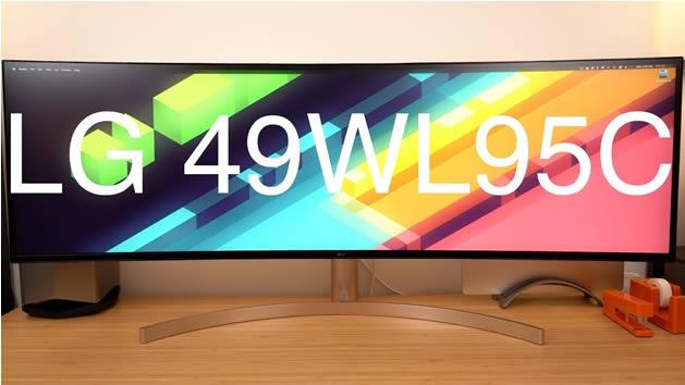 Voici le nouveau moniteur LG Massive 49'', écran 5K