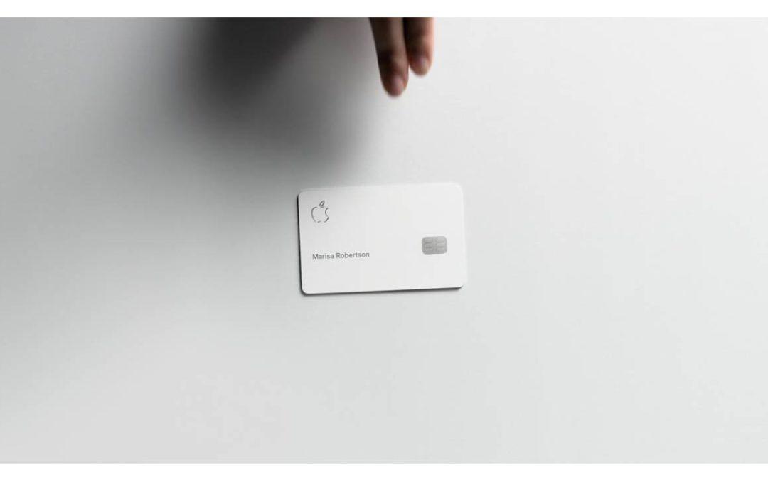 Apple Card commence son déploiement