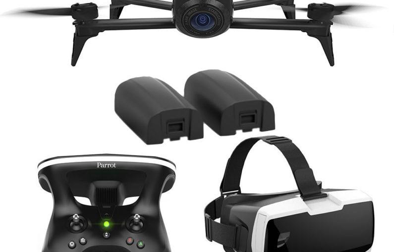 Le dernier drone de Parrot inclut un casque d'écoute immersif dans le cockpit