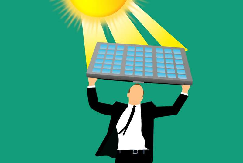 illustration energie solaire