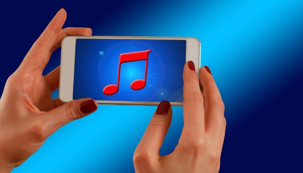 lecture musique sur smartphone