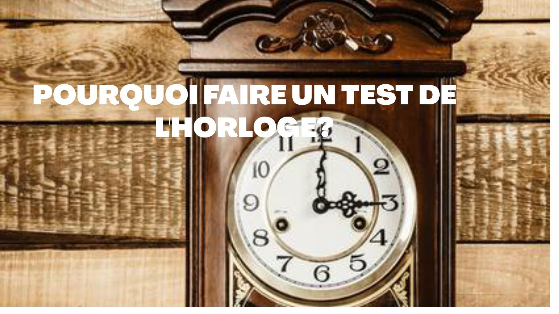 test horloge
