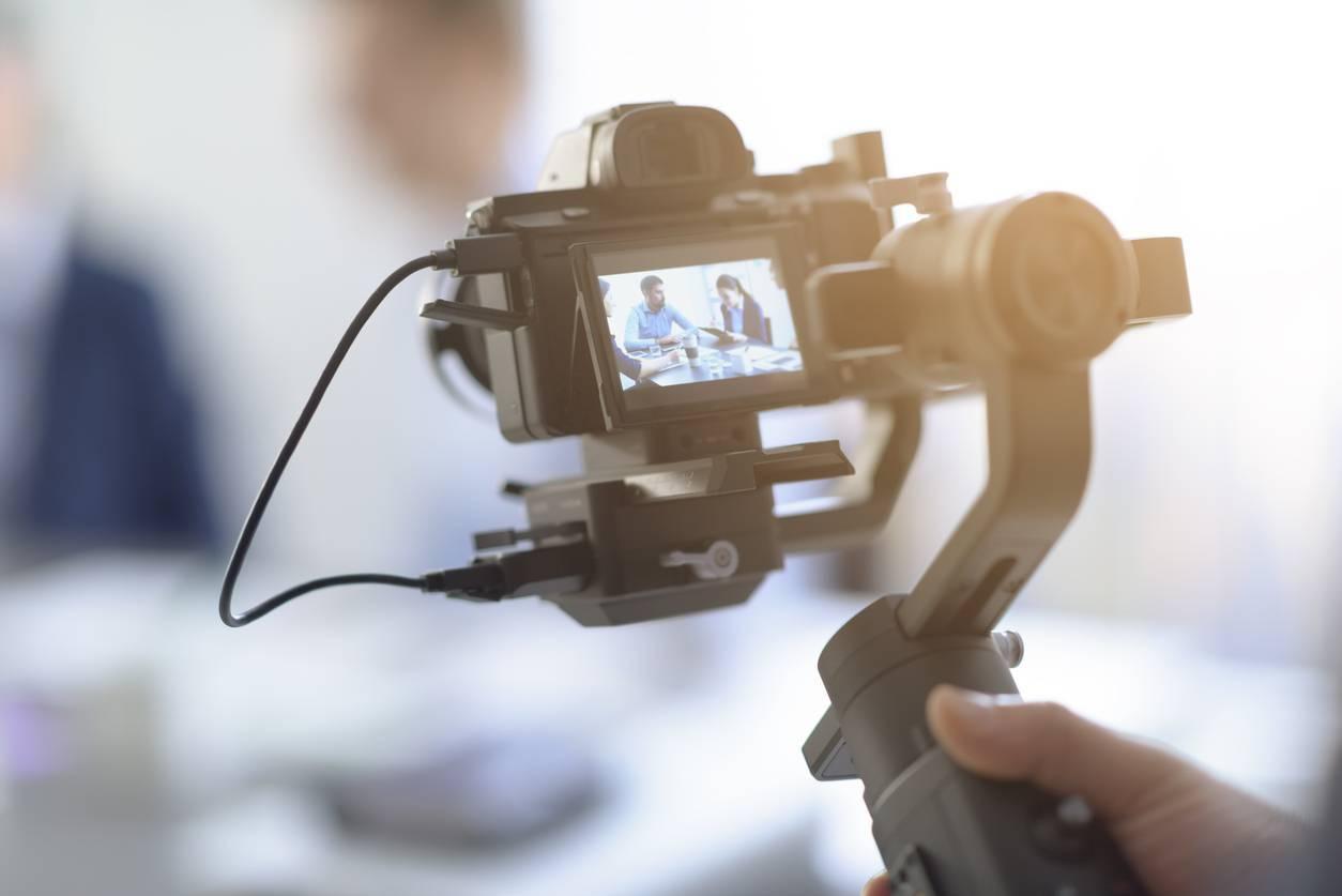 Vidéo échange entreprise
