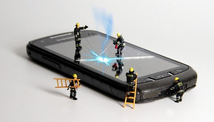Panne smartphone