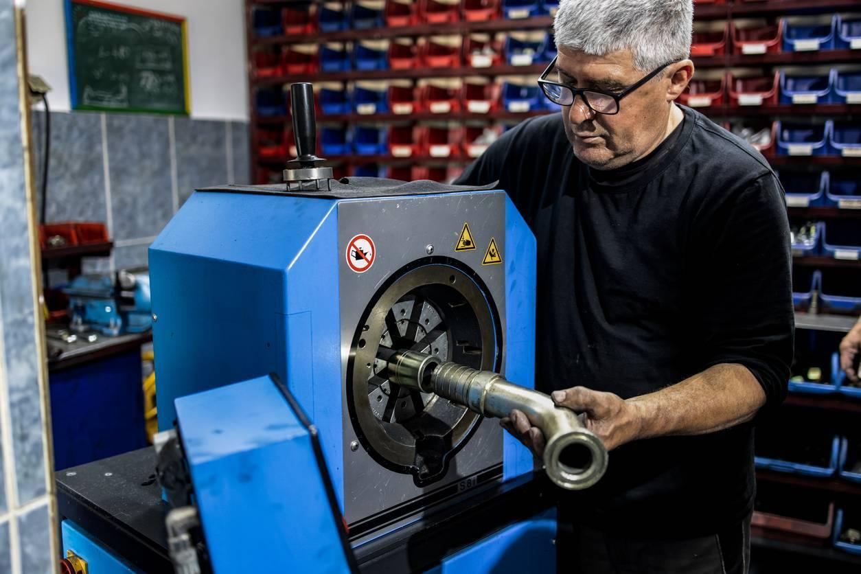 maintenance préventive système hydraulique machine flexible