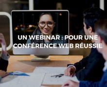 Pensez au webinar pour vos web conférences!